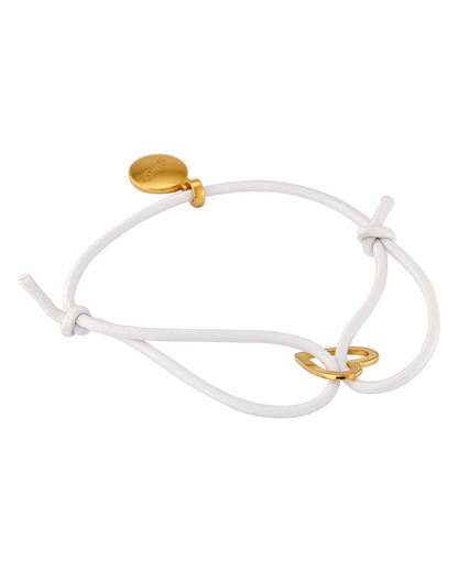 Armband 925 Sterling Silber Gab&Ty gold,weiß  4250945520620