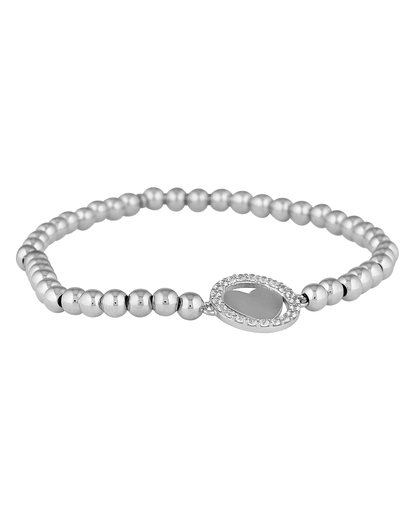 Armband My Heart aus 925 Sterling Silber mit Zirkonia Gab&Ty 4250945525250