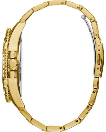 Guess Herren-Uhren Analog Quarz GUESS gold 0091661493881