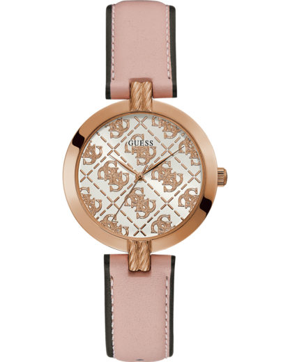 Guess Damen-Uhren Analog Quarz GUESS pink 0091661512513