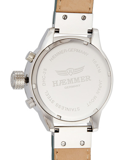 Chronograph DHC-28 Donna HÆMMER GERMANY Damen Leder 4260207811816