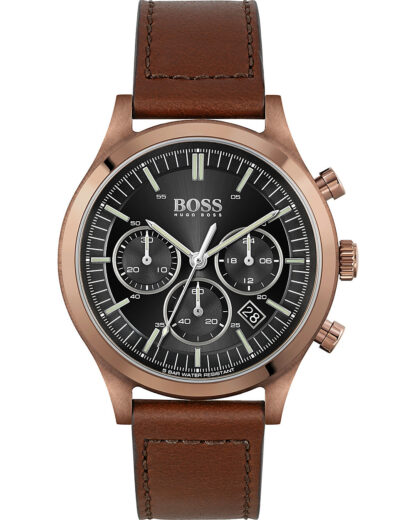 Hugo Boss Herren-Uhren Analog Quarz Hugo Boss Braun 7613272390576