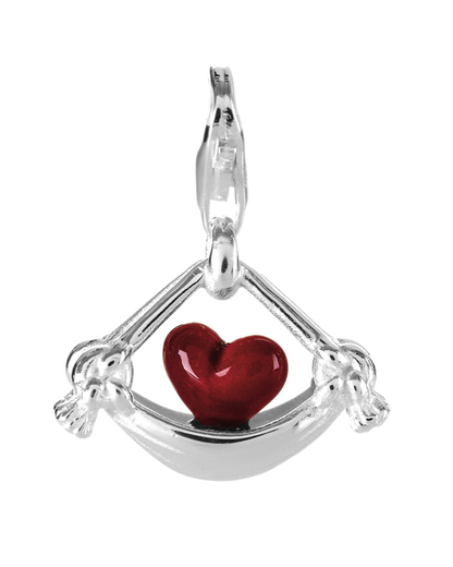 Charm Swing My Heart 925 Sterling Silber Heartbreaker 4260168182468
