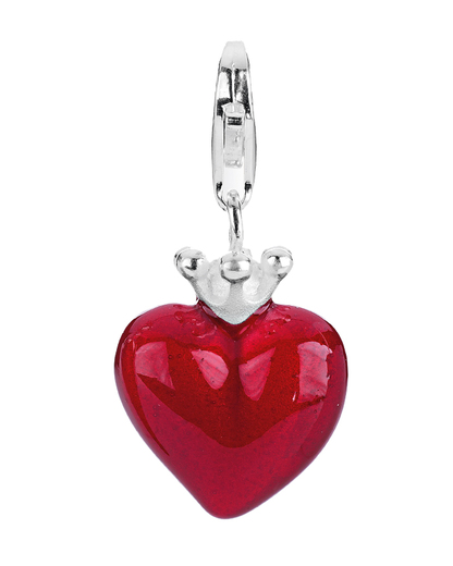 Charm Crown Of My Heart 925 Sterling Silber Heartbreaker 4260168195390