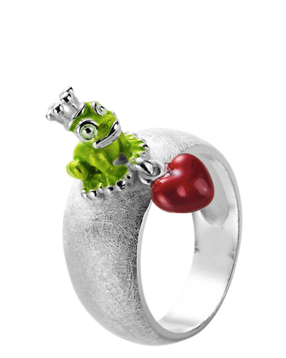 Ring Froggy 925 Sterling Silber Heartbreaker