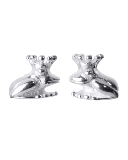 Ohrstecker Froggy 925 Sterling Silber Heartbreaker 4260168180563
