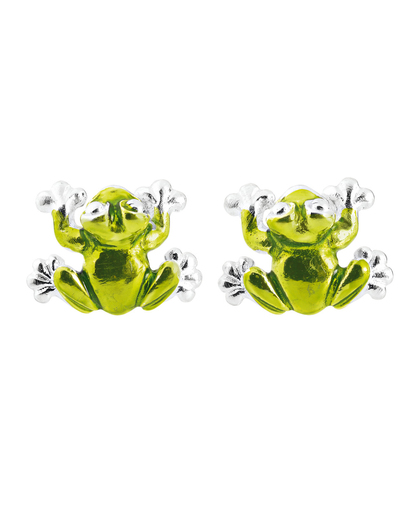 Ohrstecker Froggy 925 Sterling Silber Heartbreaker 4260168191583