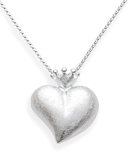 Halskette CROWN OF MY HEART 925 Sterling Silber Heartbreaker 4260168197110