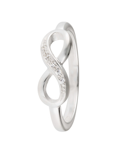 Ring Infinity 925 Sterling Silber Heartbreaker