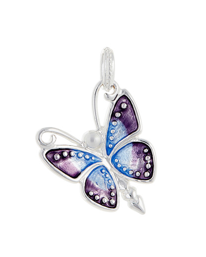 Kettenanhänger Flying Purple 925 Sterling Silber Heartbreaker 4260168196977
