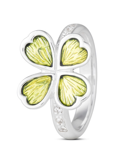 Ring Lucky's 925 Sterling Silber Heartbreaker