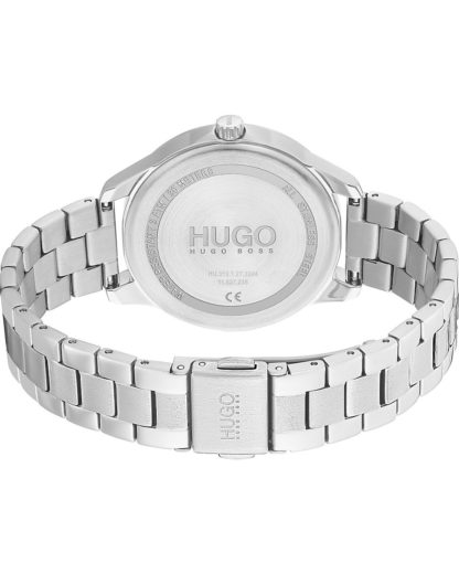 Hugo Damen-Uhren Analog Quarz HUGO Silber 7613272390996