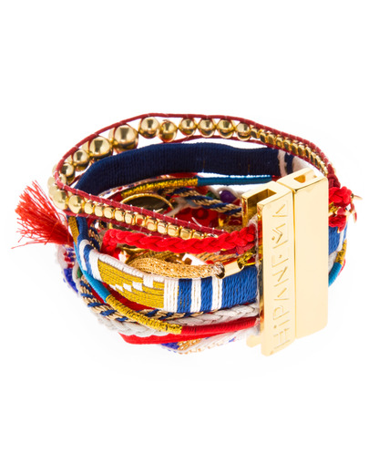 Armband Madness Stoff HIPANEMA 4250945507317