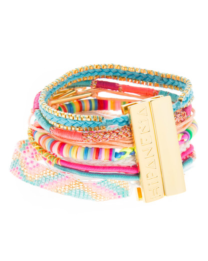 Armband Rainbow Stoff HIPANEMA 4250945520002