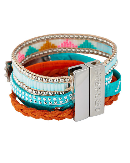 Armband Bluehope aus Messing, Kunststoff & Stoff HIPANEMA 3700839111706