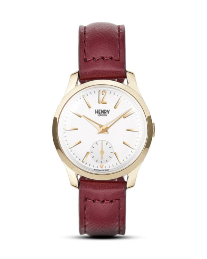 Quarzuhr Holborn HL30-US-0060 Henry London gold,rot,weiß 5018479077480