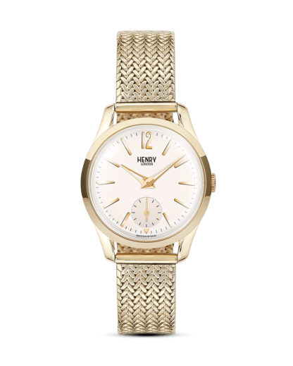 Quarzuhr Westminster HL30-UM-0004 Henry London beige,gold 5018479077404