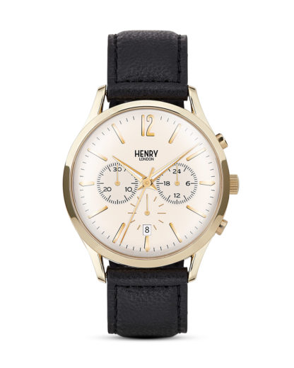 Chronograph Westminster HL41-CS-0018 Henry London beige,gold,schwarz 5018479078159