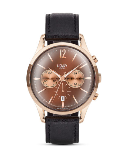 Chronograph Harrow HL39-CS-0054 Henry London braun,roségold,schwarz 5018479077589