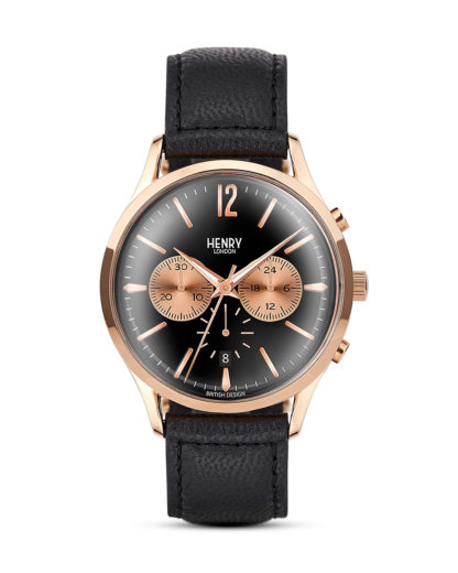 Chronograph Richmond HL41-CS-0042 Henry London roségold,schwarz 5018479078180