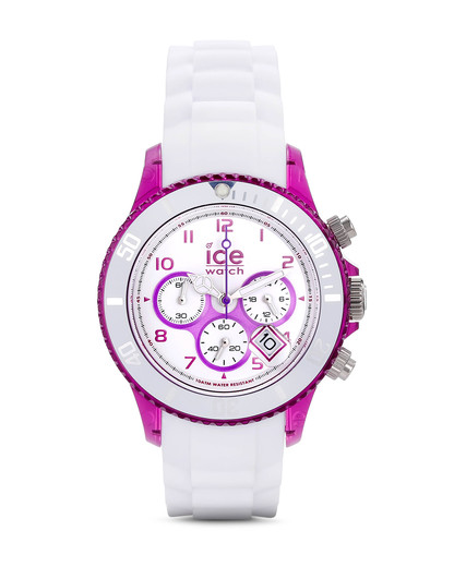 Chronograph Chrono Party CHWPEUS13 Ice Watch violett,weiß 4895164005352