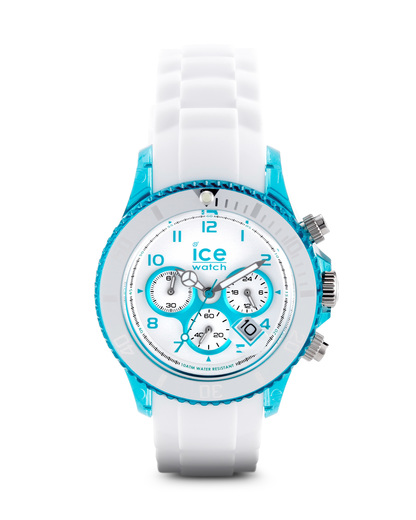 Chronograph Chrono Party CHWTEUS13 Ice Watch grün,weiß 4895164005321