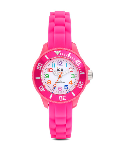 Quarzuhr Ice-Mini Mini MNPKMS12 Ice Watch pink,weiß 4895164004164
