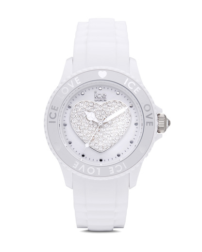 Quarzuhr Ice-Love Unisex LOWEUS10 Ice Watch weiß 4897028002521