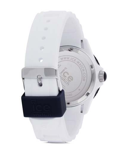 Quarzuhr Ice-White Unisex SIWBUS11 Ice Watch Damen,Herren Silikon 4895164001071