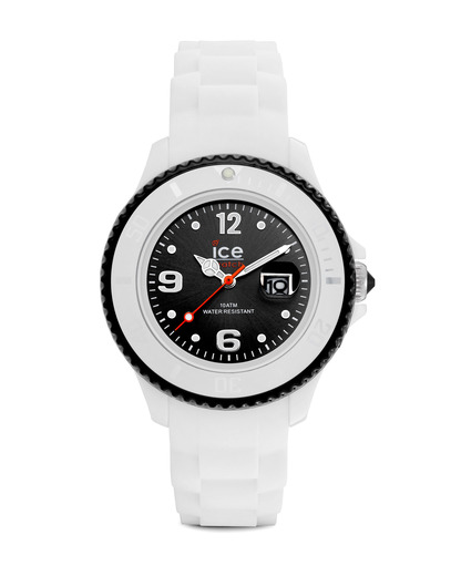 Quarzuhr Ice-White Small SIWKSS11 Ice Watch schwarz,weiß 4895164000982