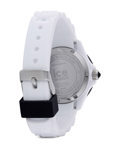 Quarzuhr Ice-White Small SIWKSS11 Ice Watch Damen Silikon 4895164000982