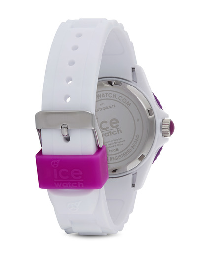 Quarzuhr Ice-Solid Unisex SIWVUS11 Ice Watch Damen Silikon 4895164001125