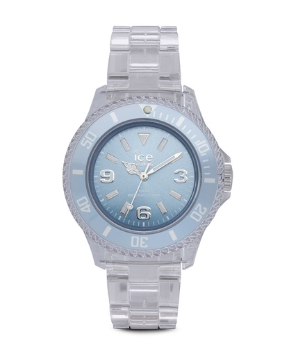 Quarzuhr Ice-Pure Small PUBESP12 Ice Watch blau,klar 4895164002795
