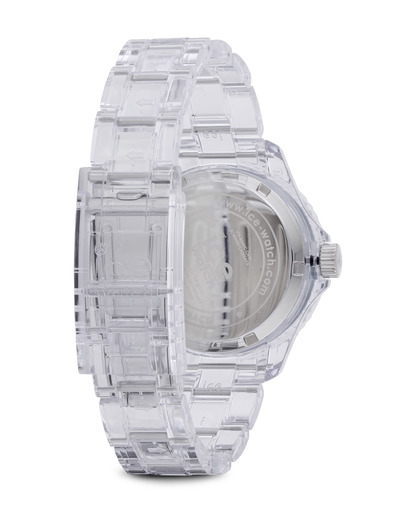 Quarzuhr Ice-Pure Small PUBESP12 Ice Watch Damen Kunststoff 4895164002795