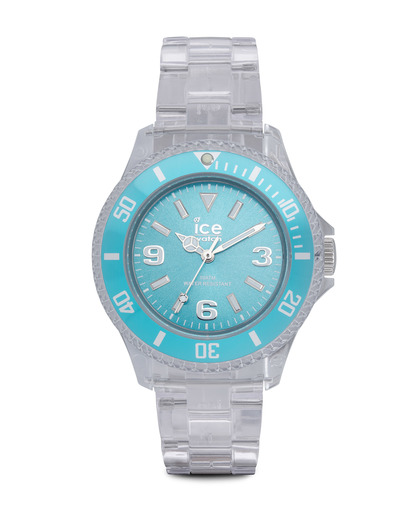 Quarzuhr Ice-Pure Small PUTESP12 Ice Watch klar,türkis 4895164002801