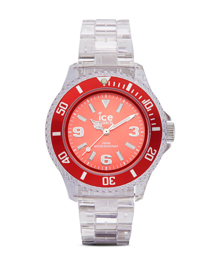 Quarzuhr Ice-Pure Small PURDSP12 Ice watch klar,rot 4895164002825