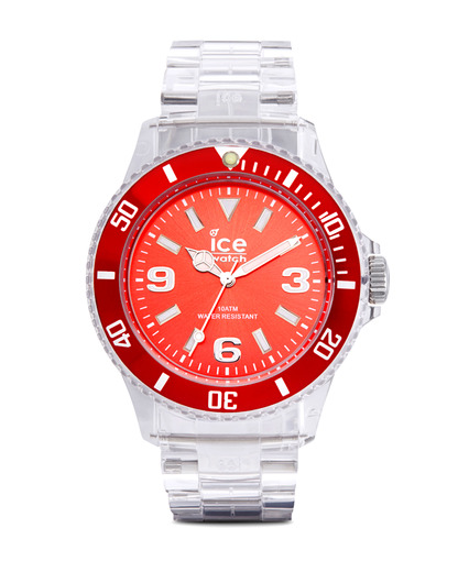 Quarzuhr Ice-Pure Unisex PURDUP12 Ice Watch klar,rot 4895164002900