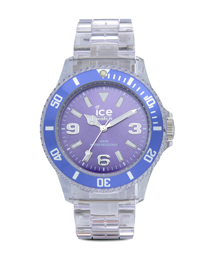 Quarzuhr Ice-Pure Unisex PUPEUP12 Ice Watch klar,violett 4895164002924