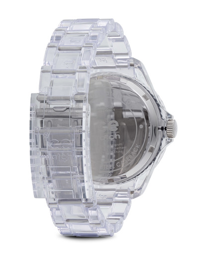 Quarzuhr Ice-Pure Big PUATBP12 Ice Watch Damen,Herren Kunststoff 4895164002931