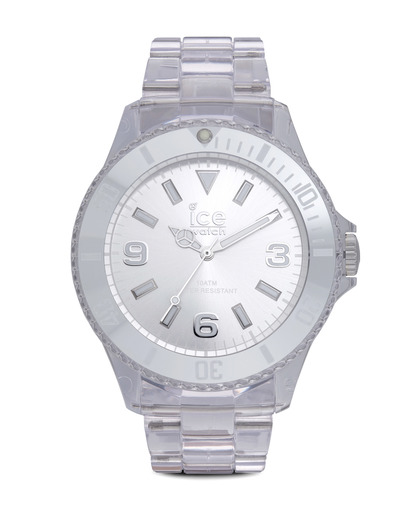 Quarzuhr Ice-Pure Big PUSRBP12 Ice Watch klar,silber 4895164002948