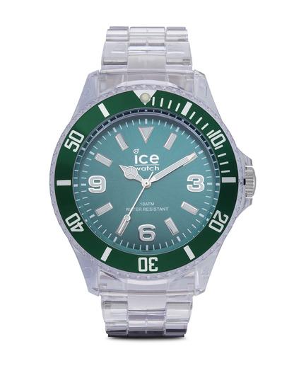 Quarzuhr Ice-Pure Big PUFTBP12 Ice Watch grün,klar 4895164002979