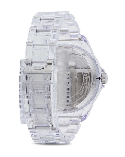 Quarzuhr Ice-Pure Big PUFTBP12 Ice Watch Damen,Herren Kunststoff 4895164002979