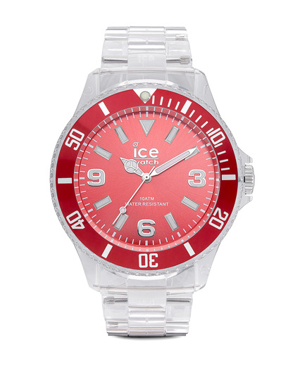 Quarzuhr Ice-Pure Big PURDBP12 Ice Watch klar,rot 4895164002986