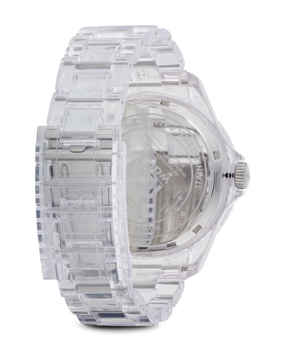 Quarzuhr Ice-Pure Big PURDBP12 Ice Watch Damen,Herren Kunststoff 4895164002986