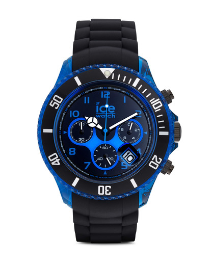 Chronograph Ice-Chrono Electrik Big Big CHKBEBBS12 Ice Watch blau,schwarz 4895164003051