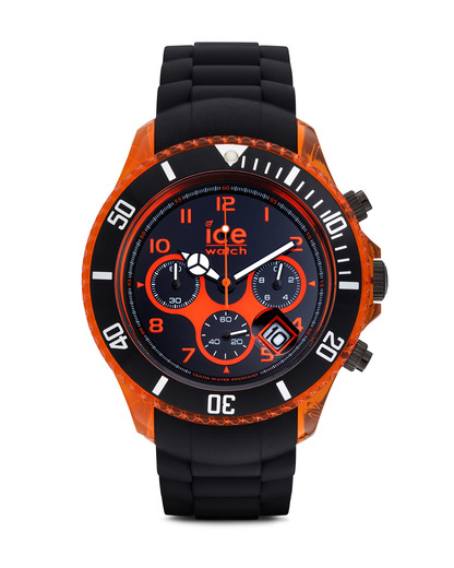 Chronograph Ice-Chrono Electrik Big Big CHKOEBBS12 Ice Watch orange,schwarz 4895164003075