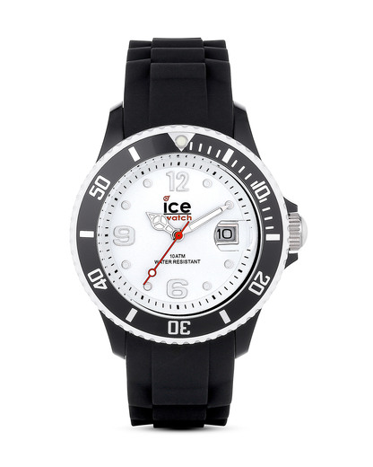 Quarzuhr Ice White Black SIBWUS11 Ice watch schwarz,weiß 4895164001057
