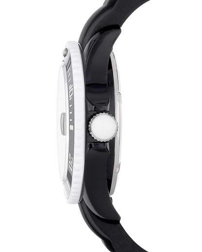 Quarzuhr Ice White Black SIBWUS11 Ice watch Damen,Herren Silikon 4895164001057