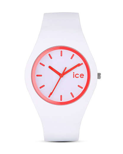 Quarzuhr Crazy Candy ICECYCAUS13 Ice Watch pink,weiß 4895164006748