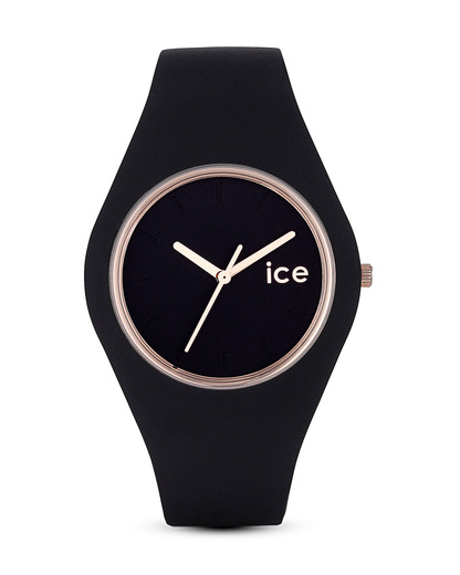 Quarzuhr Ice Glam ICEGLBRGUS14 Ice Watch roségold,schwarz 4895164008360